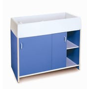 """Whitney Brothers EZ Clean Infant Changing Cabinet, 38""""(H)"""