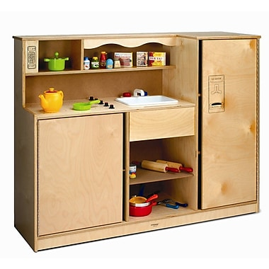Whitney Brothers Preschool Kitchen Combo, Natural