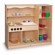 Whitney Brothers Toddler Kitchen Combo, Natural