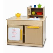 Whitney Brothers Kitchen Island, Natural