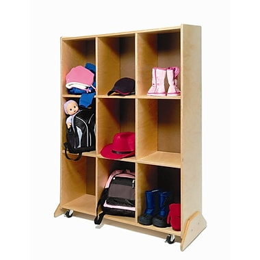 Whitney Brothers 9 Cubby Storage and Teaching Center, Natural