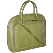 Fabrique Francine Collection Park Avenue 12inch Carrying Case For Notebook, Olive