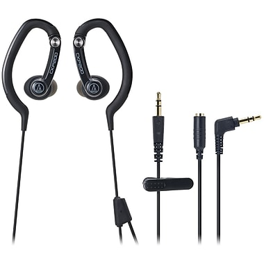 Audio-Technica ATH-CKP200BK Clip-On Stereo Headphone, Black