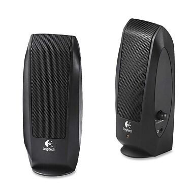 Logitech – Enceinte acoustique de 2,3 W S-120 2.0, noire