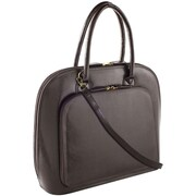 Fabrique Francine Collection Park Avenue 12inch Carrying Case For Notebook, Brown