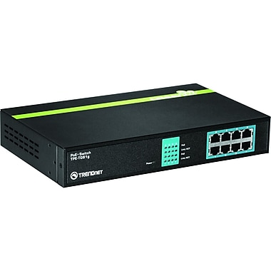 TRENDnet® TPE-TG81G Gigabit GREENnet 8 Ports PoE Switch