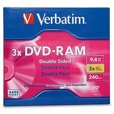 Verbatim 95003 DVD-RAM 3X Double-Sided Type 4 Cartridge