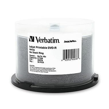 Verbatim – Disques Datalifeplus 16X DVD-R Media