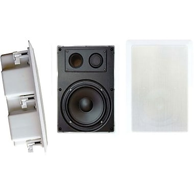 Pyleaudio® PDIW87 2-Way In Wall Enclosed Speaker System With Directional Tweeter