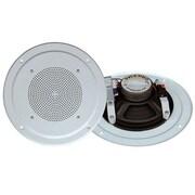 Pyleaudio® PDICS64 Full Range Speaker System With Transformer, White
