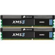 Corsair CMX8GX3M2A1600C9 Memory Module, XMS3 2 x 4GB, DDR3 SDRAM, DIMM, DDR3-1600/PC3-12800, Desktop
