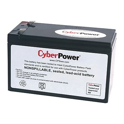 Cyberpower RB1280A 12 VDC Replacement Battery