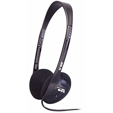 Cyber Acoustics ACM-70B Over-Ear Stereo Headphone, Black
