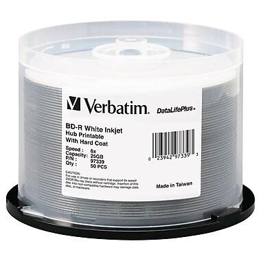 Verbatim – Disque imprimable Bd-R 6X jet d'encre blanc