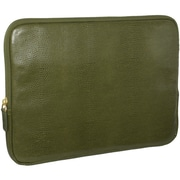 Fabrique Francine Collection Park Avenue 10inch Carrying Case For Tablet PC, Olive