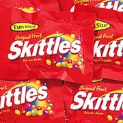 Skittles Fun Size Packs , 4 lb. Bulk