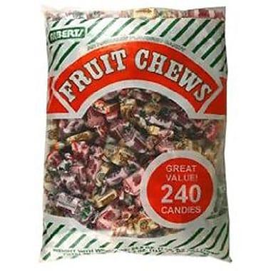 Assorted Fruit Chews, 240-Piece Bag