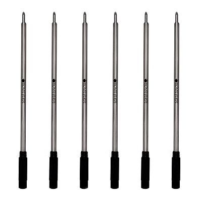 Monteverde® Medium Ballpoint Refill For Cross Ballpoint Pens, 6/Pack, Black