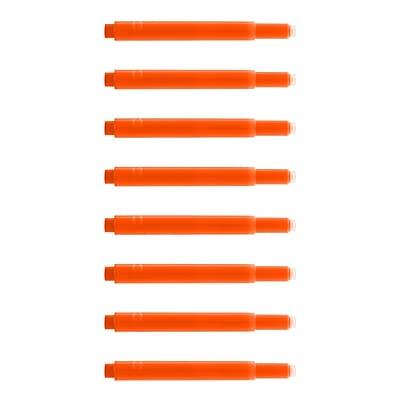 Monteverde® International Size Cartridge For Lamy Fountain Pens, 8/Pack, Fluorescent Orange