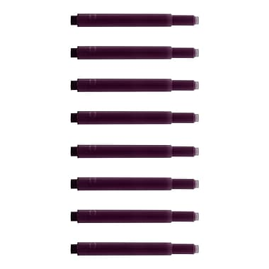Monteverde® International Size Cartridge For Lamy Fountain Pens, 8/Pack, Purple