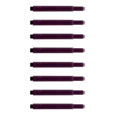 Monteverde® International Size Cartridge For Lamy Fountain Pens, 8/Pack, Purple