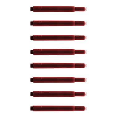 Monteverde® International Size Cartridge For Lamy Fountain Pens, 8/Pack, Red