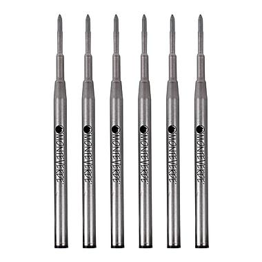 Monteverde® 6/Pack Fine Gel Ballpoint Refills For Montblanc Gel Ballpoint Pens