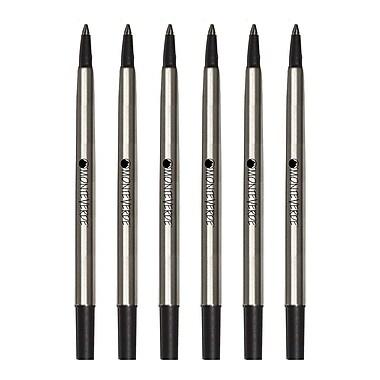 Monteverde® Fine Rollerball Refill For Parker Rollerball Pens, 4/Pack, Blue/Black