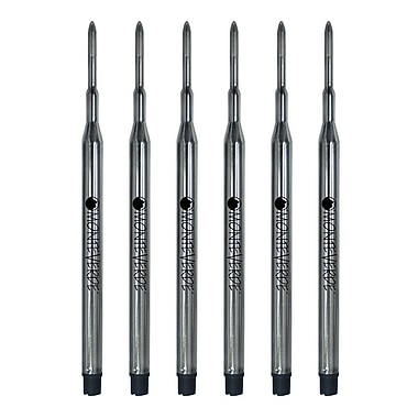 Monteverde® 6/Pack Fine Gel Ballpoint Refills For Sheaffer Gel Ballpoint Pens
