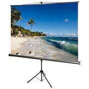 "Draper ® AccuScreens ® 800069 Manual Tripod Projection Screen, 71"""