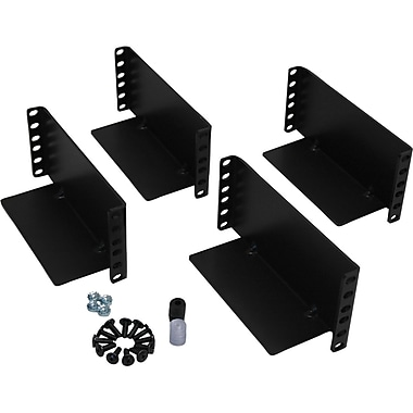 Tripp Lite 2POSTRMKITHD 2Post Rack, 3U Wide, Black, (2POSTRMKITHD)