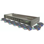 Iogear MiniView GCS138 8 Port Ultra KVM Switchbox with Cables by