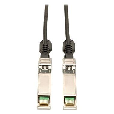 Tripp Lite 8' SFP+ 10Gbase-CU Twinax Copper Cable, Black