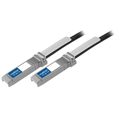 AddOn® 747521101-AOK 10 Gbps SFP+ Male/Male Twinaxial Direct Attach Cable, 3.3'