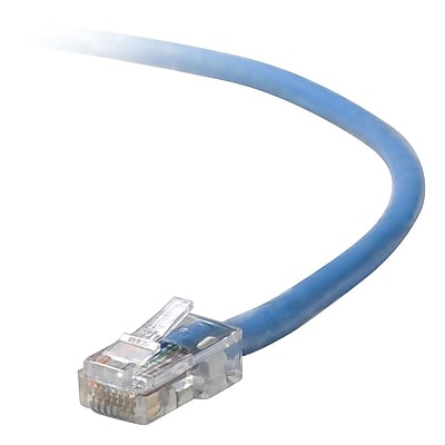 Belkin A3L791-30-BLU-S 30' CAT-5e Snagless Patch Cable, Blue (A3L791-30-BLU-S )