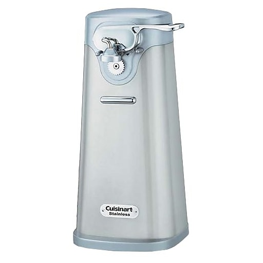 Conair Cuisinart Deluxe Stainless Steel Electric Can Opener Staples