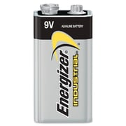 Energizer® 9 V Industrial Strength Alkaline Battery, 12/Pack
