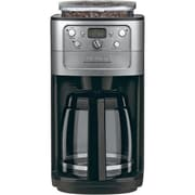 Cuisinart® Grind & Brew™ 12 Cup Automatic Coffeemaker With Bean Hopper, Silver/Black