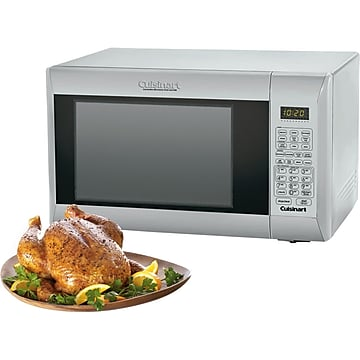 Cuisinart 1.2 Cu. Ft. Convection Microwave Oven and Grill With Glass Door Window, Stainless Steel (CMW-200)