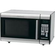 Cuisinart® 1.0 Cu. Ft. Countertop Microwave With Glass Door Window, Stainless Steel/Black