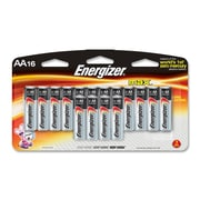 Energizer® 1.5 V Alkaline AA General Purpose Battery, 16/Pack