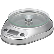 Cuisinart® PrecisionChef Bowl 11 lbs. Digital Kitchen Scale, Stainless