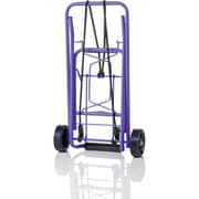 Conair® Travel Smart® Folding Multi Use Luggage Cart, Purple