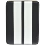 Gear Head FS3300BLK Leather Port Folio Case for Apple iPad Mini, White/Black