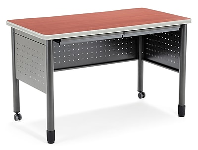 OFM Mesa Series Steel Training Table and Desk with Pencil Drawers, 27.75