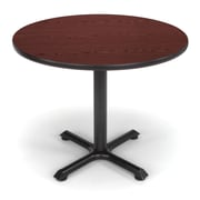 "OFM X-Series 36"" Round Multi-Purpose Table, Mahogany"