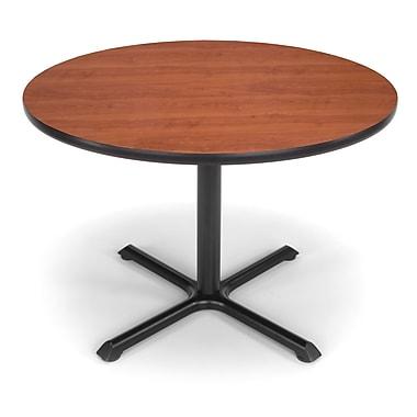 OFM – Table ronde polyvalente de 42 po de la série X, cerisier (845123032015)
