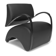 OFM Recoil Fabric Lounge Chair, Black (841-PU606)