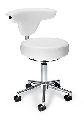 OFM Anti-Microbial/Anti-Bacterial Anatomy Vinyl Chair, White, (910-WHITE)