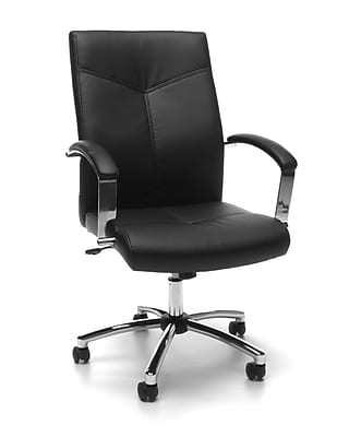 Essentials by Executive Conference Chair, Black, (E1003-BLK)